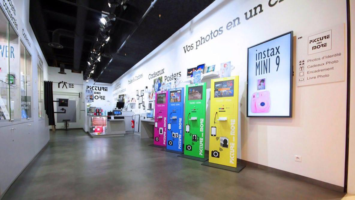 Photographie du magasin Picture and More Evry